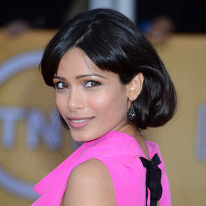 Freida Pinto: SAG Awards Hair 2013