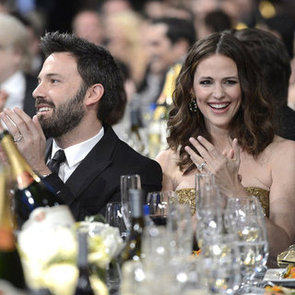 Ben Affleck and Jennifer Garner at 2013 SAG Awards