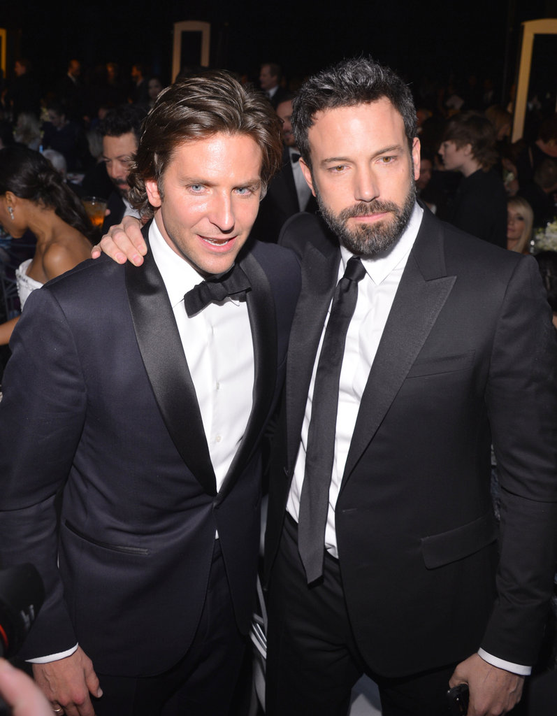 Bradley Cooper and Ben Affleck shared a moment.