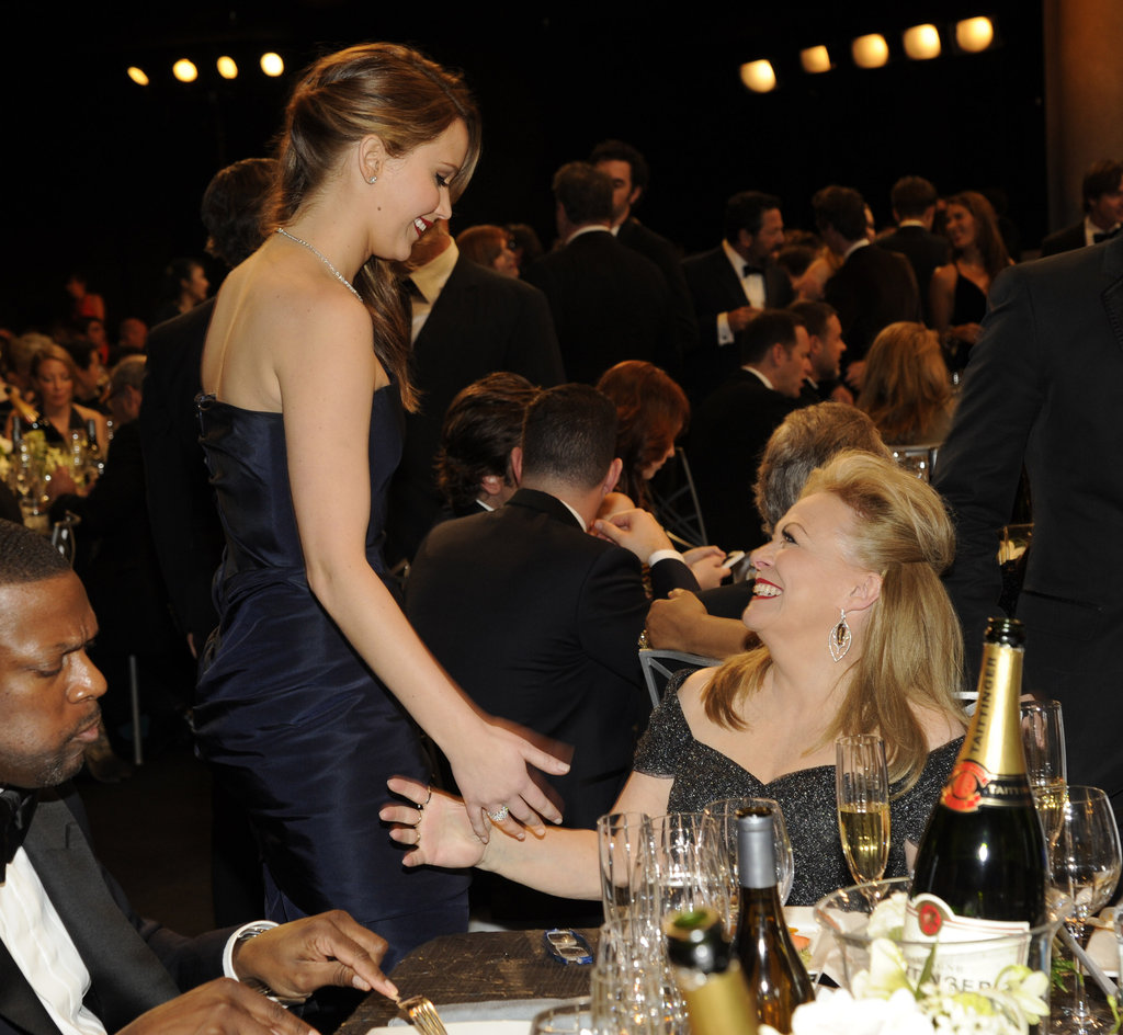 Jennifer Lawrence Wins a SAG Award —and Has Another Speech to Explain!