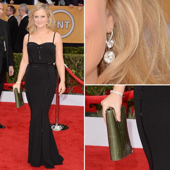 Amy Poehler: SAG Awards Red Carpet Dresses 2013