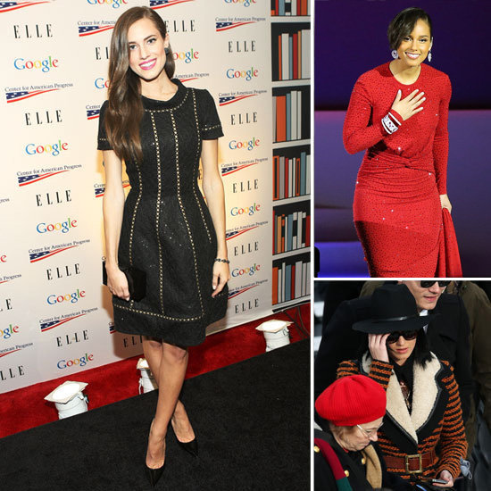 All the Celebrity Style from the Presidential Inauguration