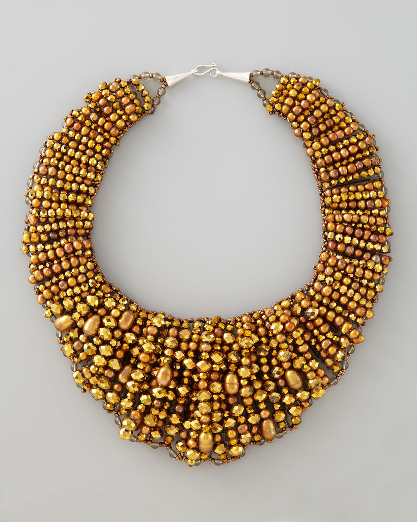 Nakamol Beaded Collar Necklace