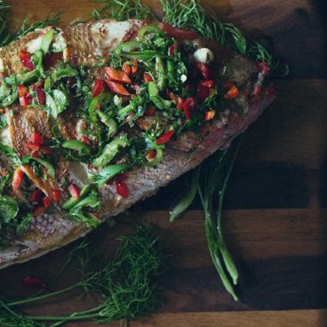 How to Cook a Whole Snapper Fish