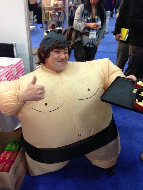 Hello Kitty Sumo Wrestler