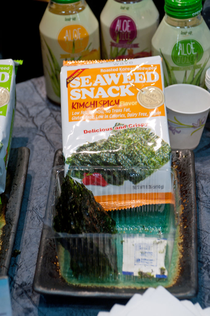 Seaweed Snack Kimchi Spicy Flavor