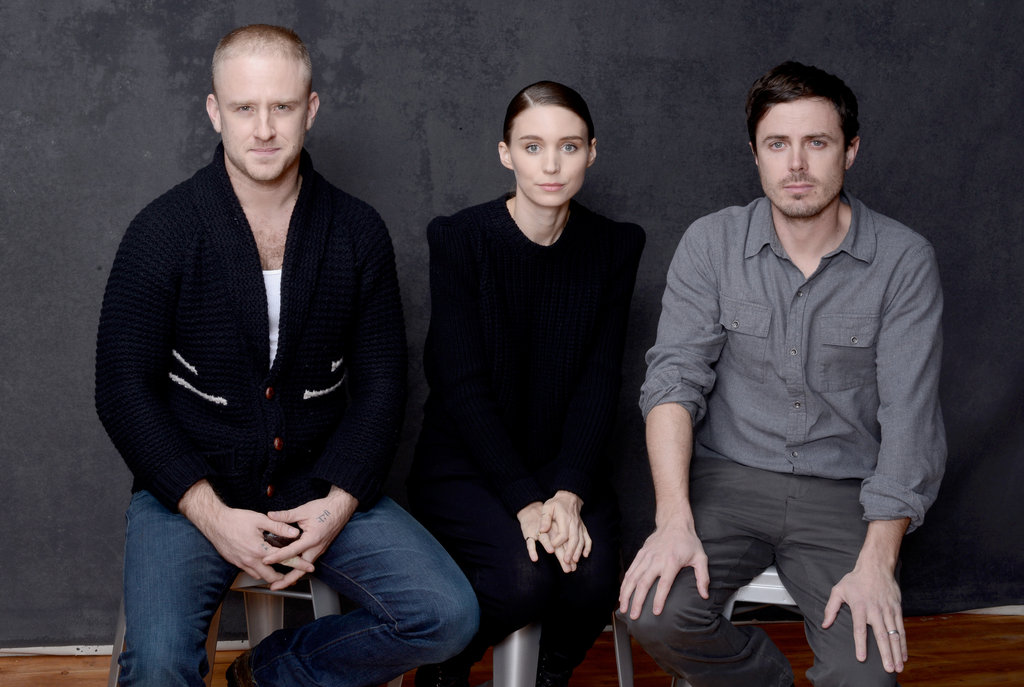 Ain't Them Bodies Saints stars Ben Foster, Rooney Mara and Casey Affleck sat next to one another inside the Sundance portrait studio.