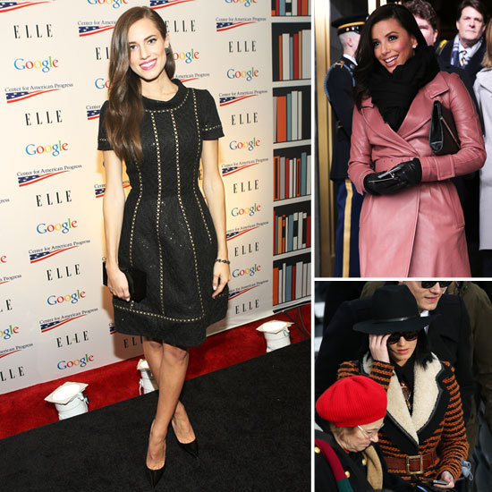 Eva Longoria, Katy Perry, and Allison Williams were just a few of the stars who attended the inauguration.