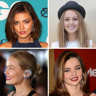 Celeb Beauty Top Aussie It Girls: Phoebe Tonkin Miranda Kerr