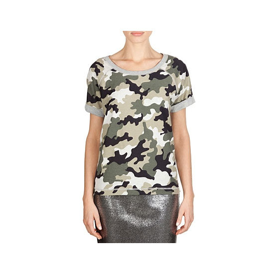 Coolest way to blend in at a BBQ? With camo. Bad jokes aside, camouflage was made for casual occasions (like a barbie) when you want to look dressed-down but still cool.  Tee, $59.95, Country Road