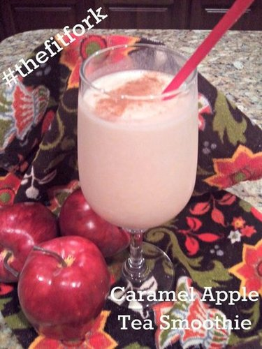 Caramel Apple Tea Smoothie