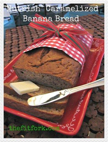 Lower-Fat Caramalized Banana Bread