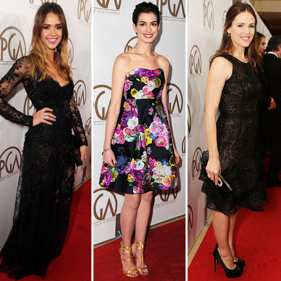 Jessica, Jennifer, and More Dazzle at the Producers Guild Awards