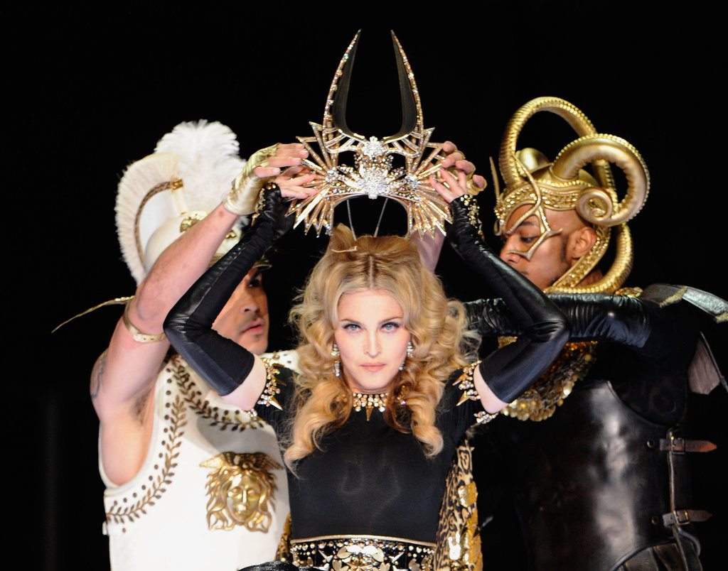 Madonna delivered a performance fit for the pop queen at the 2011 Super Bowl halftime show.