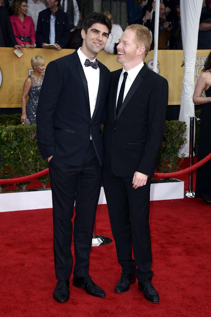 Justin Mitika and Jesse Tyler Ferguson