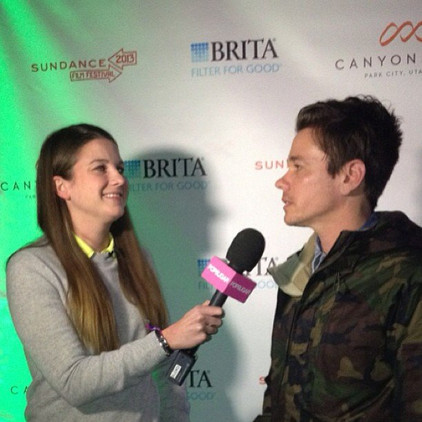 . . . where Molly caught up with Fun. lead singer Nate Ruess.