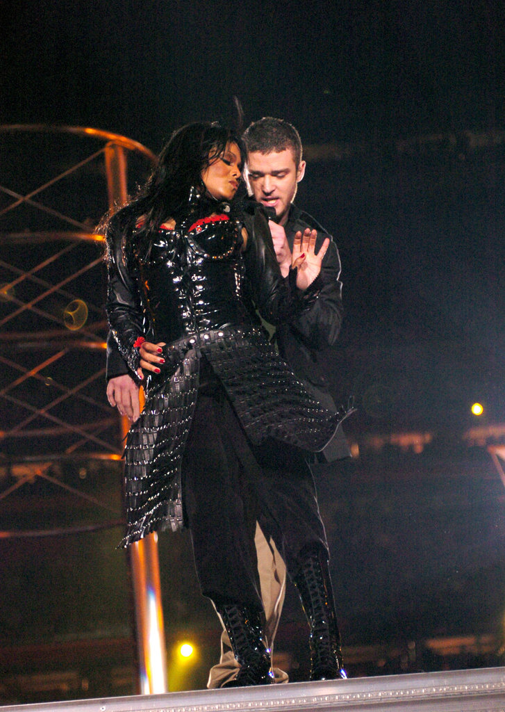 Justin Timberlake and Janet Jackson left everyone speechless during their Super Bowl halftime show performance in 2004.