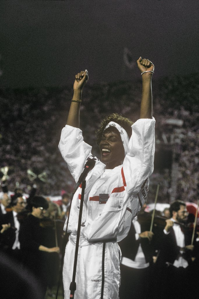 Whitney Houston, 1991