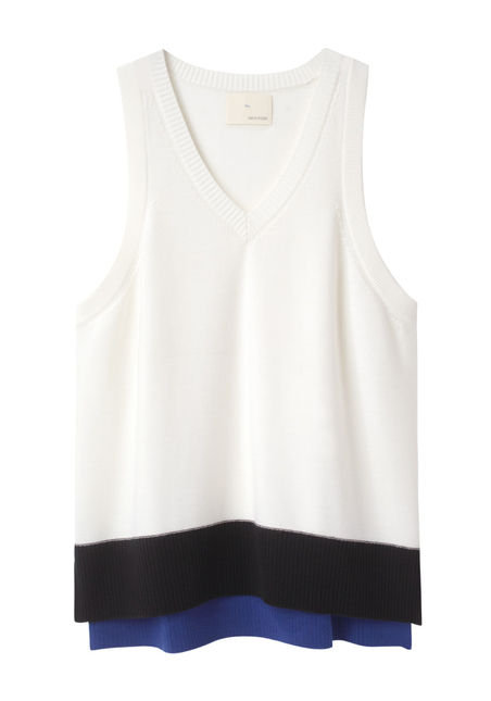 Get your Ravens fix with this Boy by Band of Outsiders Colorblock Vest ($255).