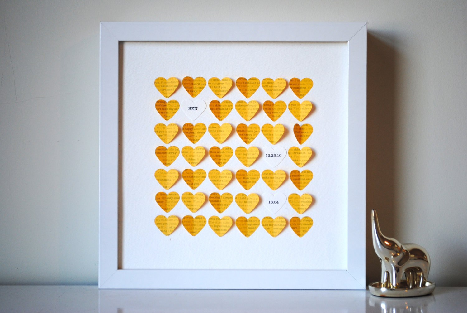 Suzy Shoppe You Are My Sunshine Framed Hearts P S I Love You 7 Expressive Prints To Gift