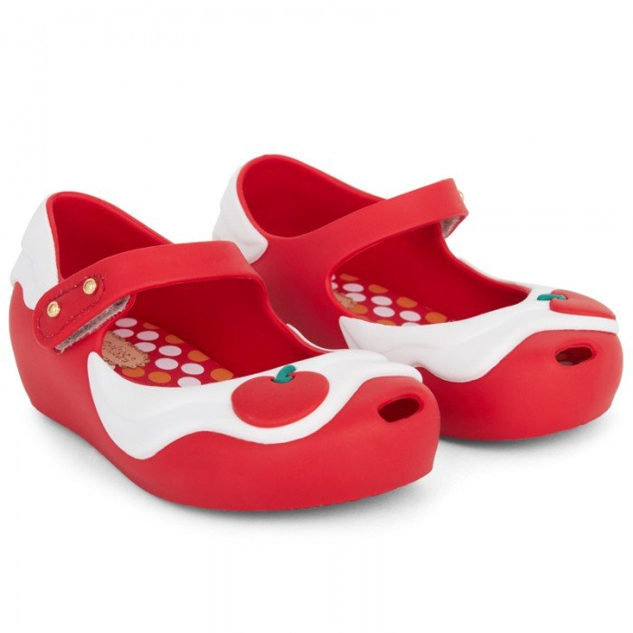 Mini Melissa Red Cupcake Mary Janes