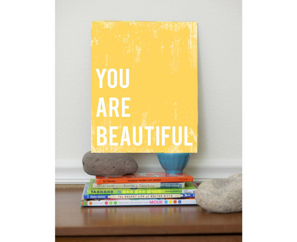 """Fresh Words Market """"You Are Beautiful"""""""