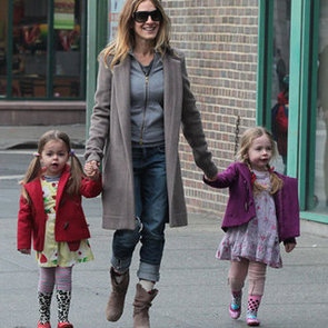 Sarah Jessica Parker Strolls New York City With Her Twins