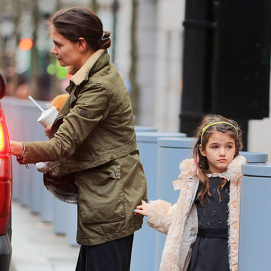 Katie Holmes and Suri Cruise at Shake Shack | Pictures