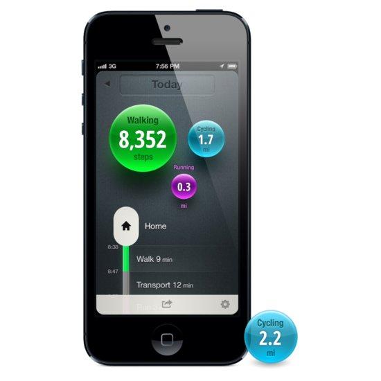 Moves Fitness App