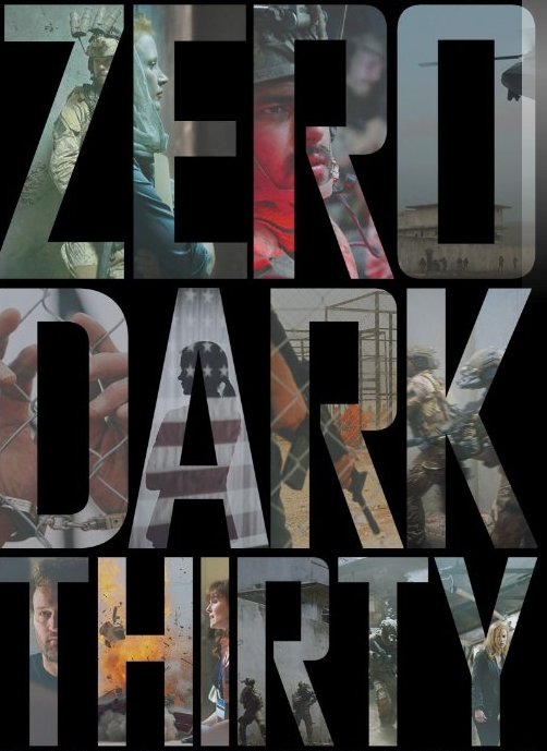 Zero Dark Thirty — which means 12:30am in military terms — is a film based on the true story of Osama Bin Laden's capture following the al-Qaeda attacks on the World Trade Centre on September 11, 2001. The story is based around lead character Maya, a CIA operative who dedicated 10 years of her life to the mission.