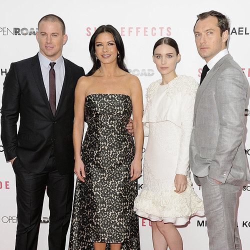 Side Effects Premiere: Rooney Mara & Channing Tatum In Suit