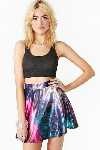 Cosmic Fate Skater Skirt ($38)