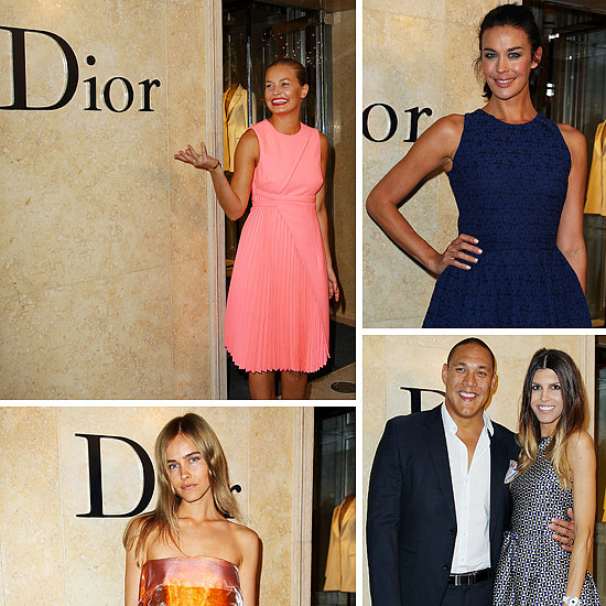 Australian Style-setters Welcome Christian Dior To Town