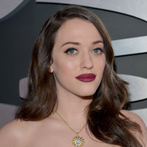 Kat Dennings | Grammys 2013 Hair and Makeup