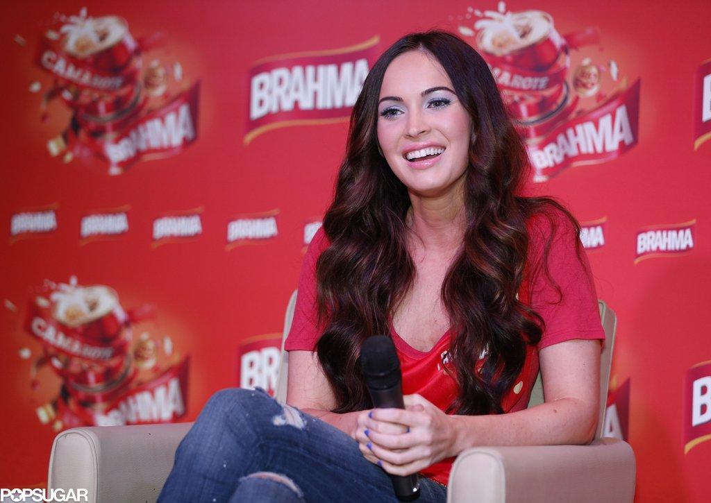 Megan Fox and Brian Austin Green Show PDA in Brazil