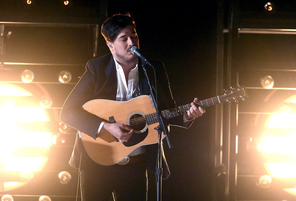 "Mumford & Sons performed ""I Will Wait"" at the Grammys."