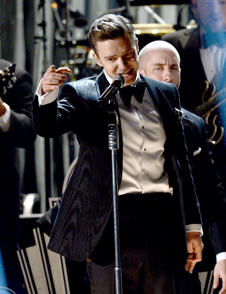Justin Timberlake made his return to the Grammys stage.
