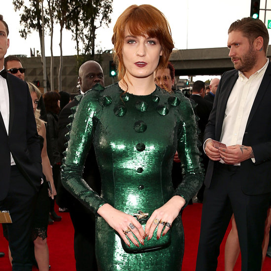 Pictures of Florence Welch in Givenchy at the 2013 Grammys