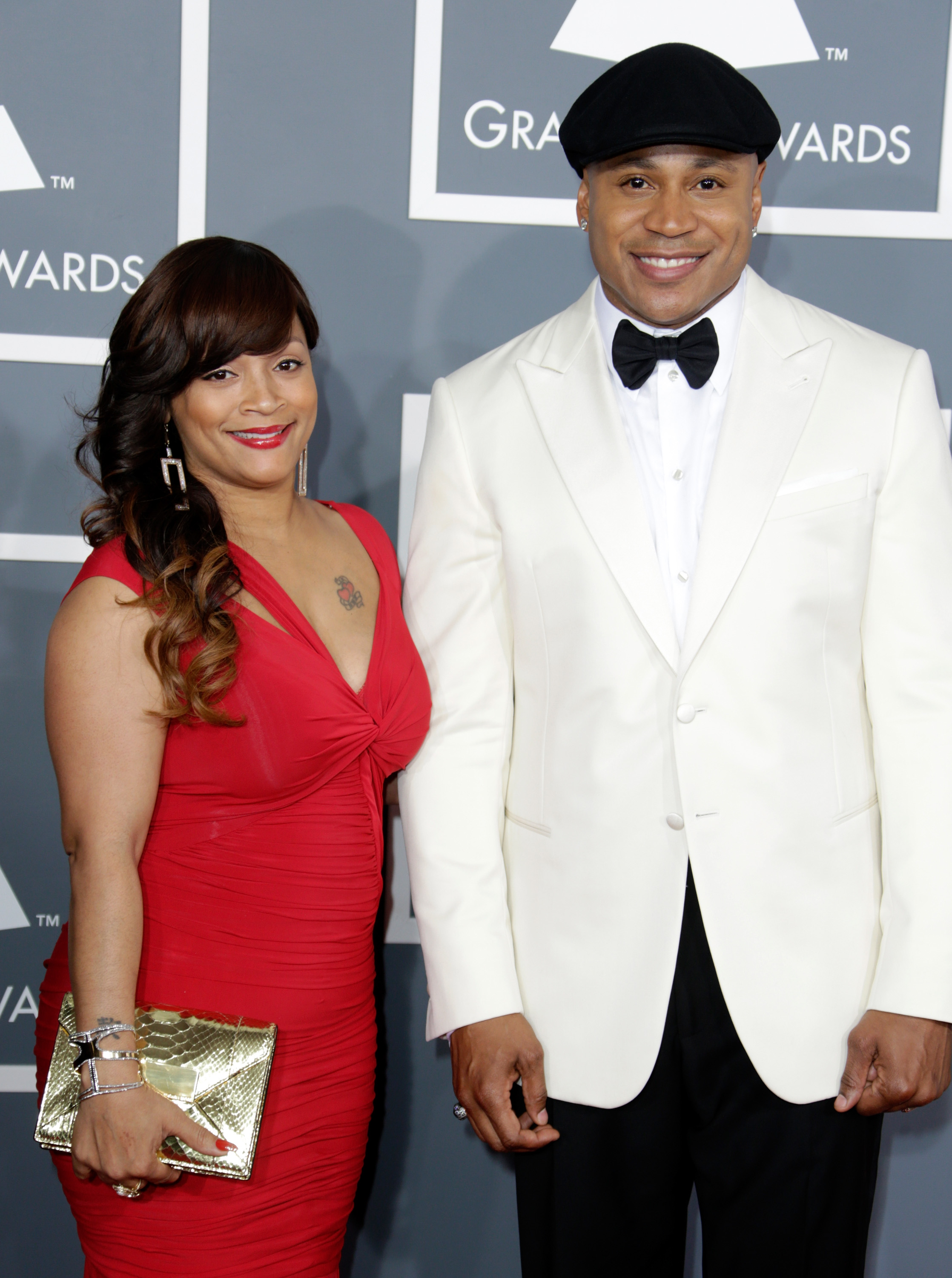 Ll Cool J And His Wife Simone Johnson Were All Smiles
