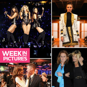 February Celebrity Pics: Kate Moss, Miranda Kerr, Super Bowl