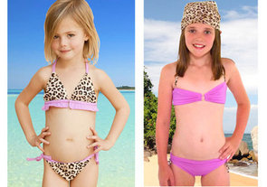 Bikinis for Gradeschoolers?