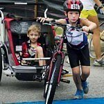 (VIDEO) Brothers, 6 and 8, Triumph Over Cerebral Palsy in Triathlons