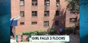 Bus Driver Catches Girl After Three-Story Fall (VIDEO)