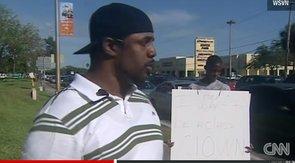 Desperate Dad Uses Public Humiliation as Discipline (VIDEO)