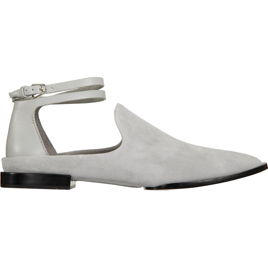 Try out Spring's white shoe trend with these sleek Alexander Wang Astrid loafers ($179, originally $450).