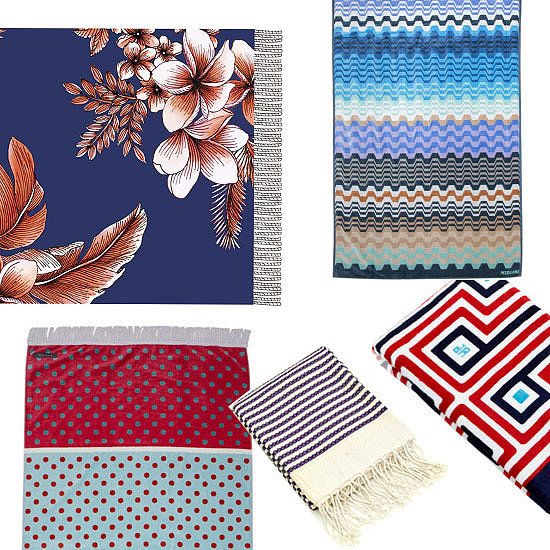 The Essential Wardrobe: 10 of the Best Beach Towels