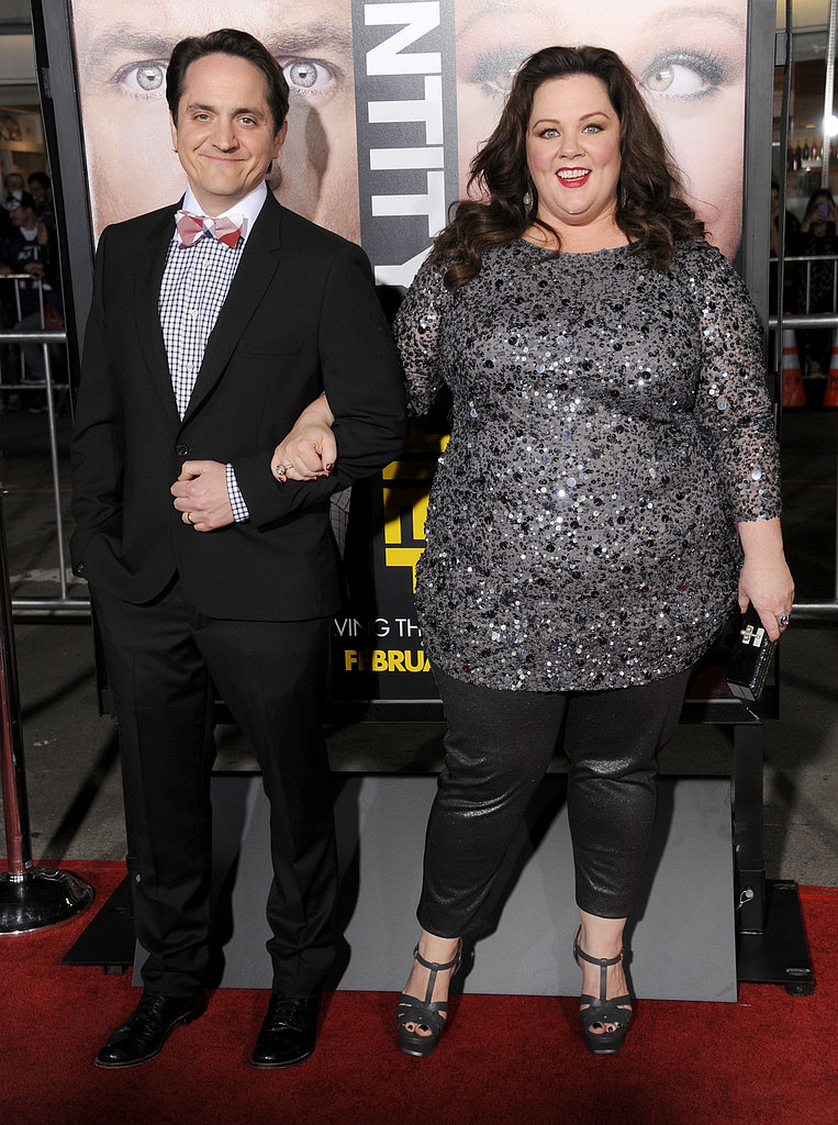 Melissa McCarthy and husband, Ben Falcone, stepped out in LA for the Identity Thief premiere.