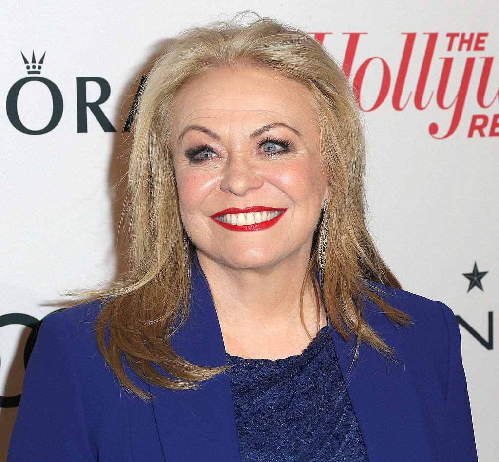 Jacki Weaver wore bright blue.