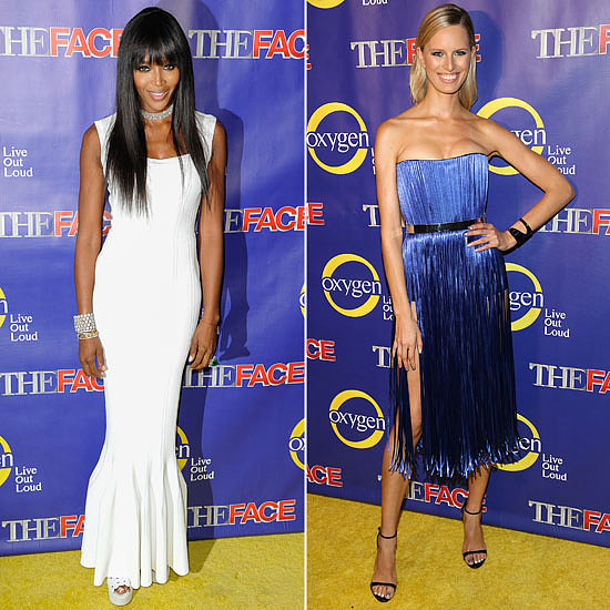 See the Supermodels Frock Up For The Face Premiere in NYC