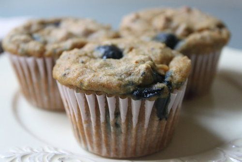 Blueberry Chia Muffins